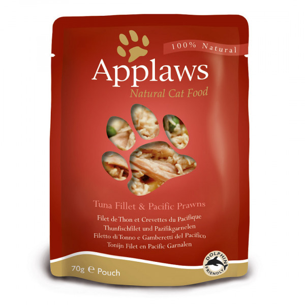 Applaws Pouch Adult Thunfisch & Garnelen