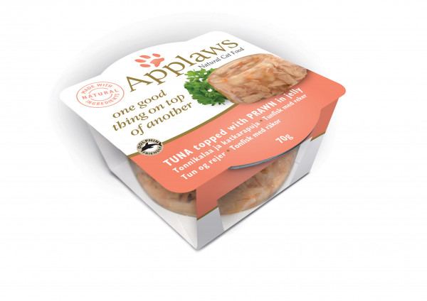 Applaws Pot Layer Adult Thunfisch mit Garnelen