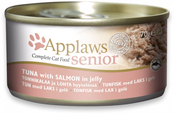 Applaws Dose Katze Senior Thunfisch & Lachs in Jelly