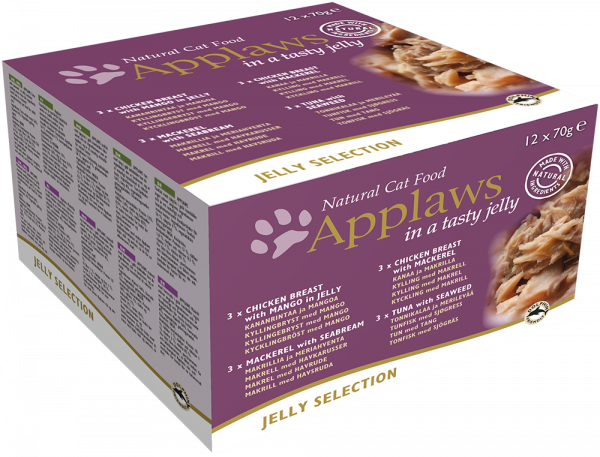 Applaws Dose Katze Adult Multipack XL Selection in Jelly