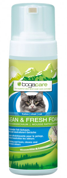 bogacare CLEAN & FRESH FOAM Katzen