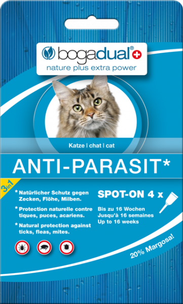 bogadual Anti-Parasit Spot-On Katze