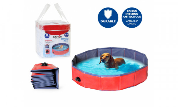 Doggy Pool Blau/Rot