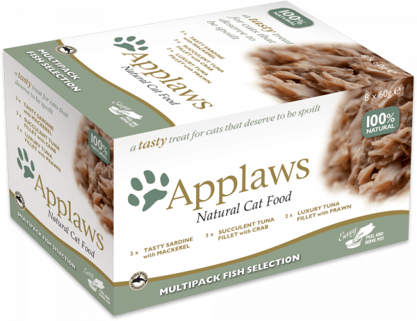 Applaws Pot Adult Multipack Fisch
