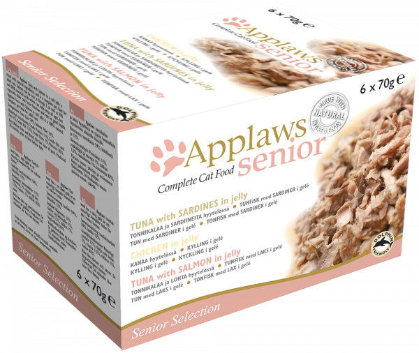 Applaws Senior Katze Multipack Selektion in Jelly