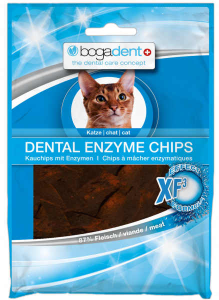 bogadent DENTAL ENZYME CHIPS Katze 50 g