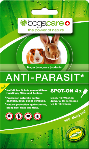 bogacare ANTI-PARASIT SPOT-ON Nager 4x 0.40 ml