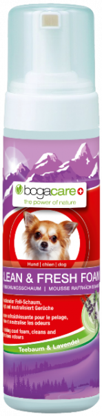 bogacare CLEAN & FRESH FOAM Hund 150 ml