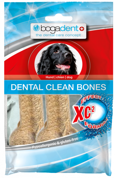 bogadent DENTAL CLEAN BONES Hund 2x60 g