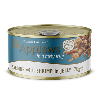 Applaws Dose Adult Sardine & Shrimps in Jelly