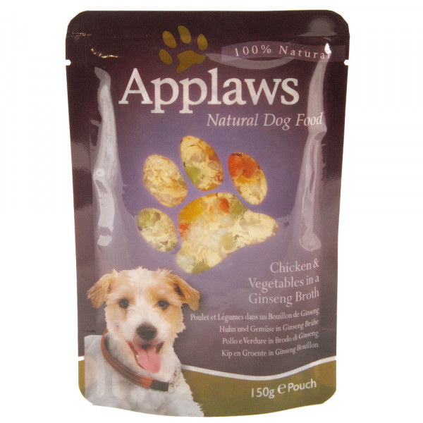 Applaws Pouch Hund Huhn & Ginseng