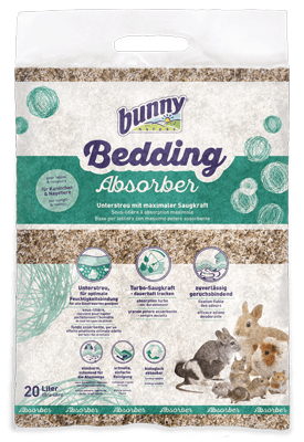 Einstreu bunnyBedding Absorber