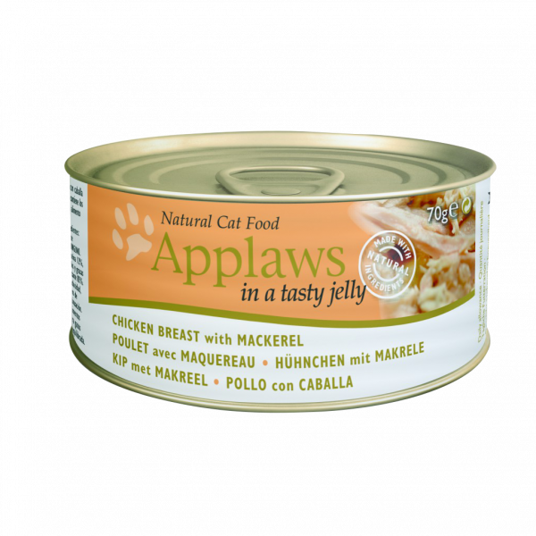 Applaws Dose Katze Adult Huhn & Makrele in Jelly