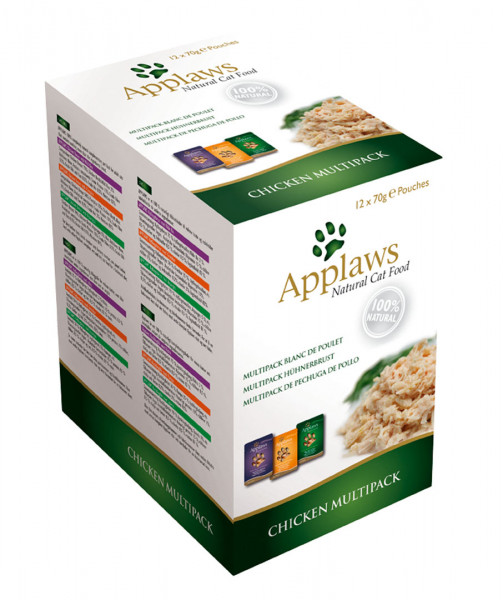 Applaws Pouch Mix Huhn - Multipack