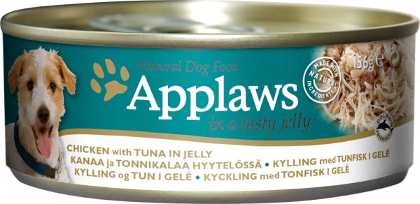 Applaws Adult Huhn & Thunfisch in Jelly