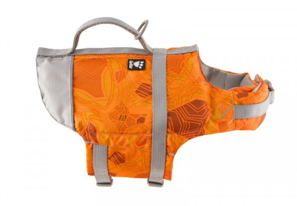 Hurtta-swimming-vest-orange-camo-HU-932564