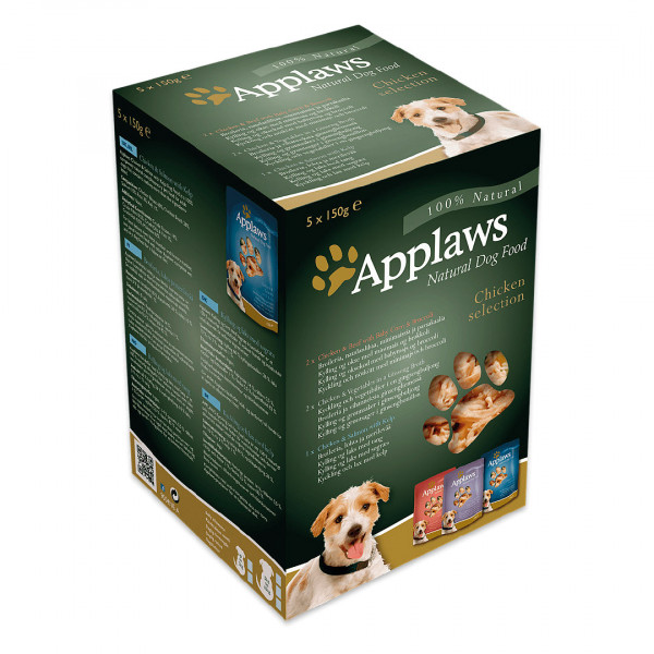 Applaws Pouch Adult Selection Huhn Mix - Multipack