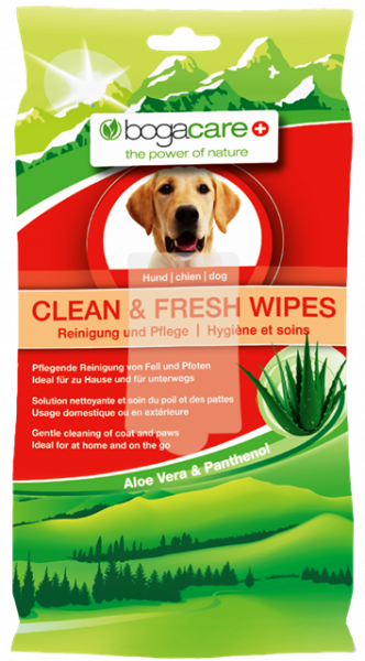 bogacare CLEAN & FRESH WIPES Hund