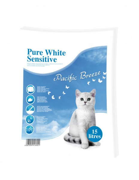 Katzenstreu Pure White Sensitive