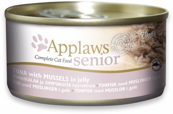 Applaws Dose Katze Senior Thunfisch & Muscheln in Jelly