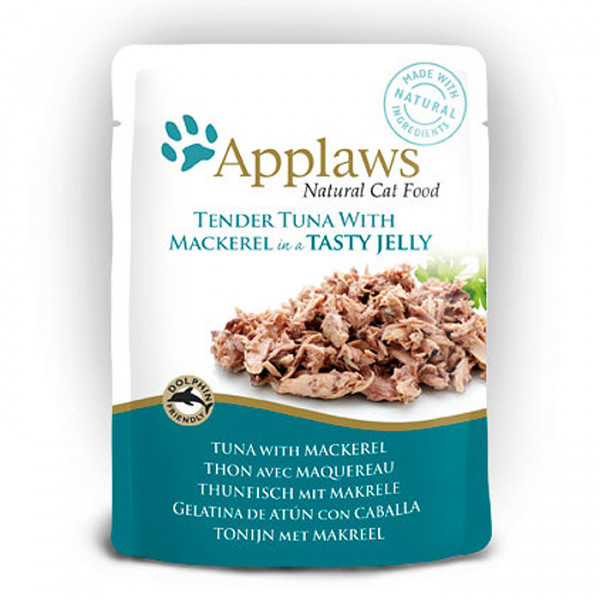 Applaws Pouch Jelly Adult Thunfisch & Makrele